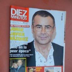 Coleccionismo de Revista Diez Minutos: REVISTA DIEZ MINUTOS Nº 3512 - 2018 - JORGE J. VÁZQUEZ, EUGENIA MARTINEZ DE IRUJO, MIGUEL BOSE .... Lote 193851616