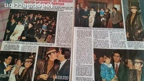 REPORTAJE DIEZ MINUTOS 1801 AÑO 1986 BODA BERNARDO, HERMANO DE ISABEL PANTOJA (Coleccionismo - Revistas y Periódicos Modernos (a partir de 1.940) - Revista Diez Minutos)