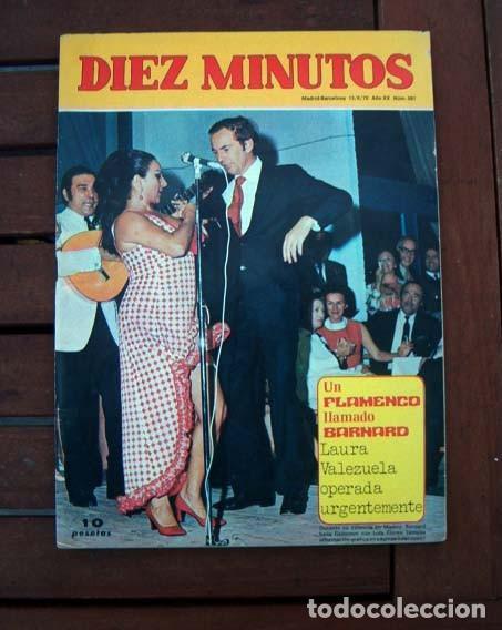 DIEZ MINUTOS / LOLA FLORES, ROBERT TAYLOR, ROCIO DURCAL, PATTY SHEPARD, AUDREY HEPBURN (Coleccionismo - Revistas y Periódicos Modernos (a partir de 1.940) - Revista Diez Minutos)