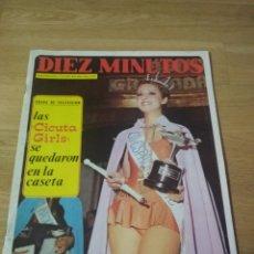 Coleccionismo de Revista Diez Minutos: REVISTA DIEZ MINUTOS 1972 SALVADOR DALÍ MISS ESPAÑA CECILIA RENAULT 5 SEAT 600 MARLON BRANDO. Lote 195682415