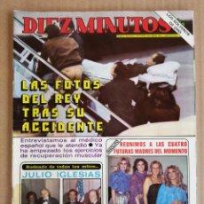 Coleccionismo de Revista Diez Minutos: REVISTA DIEZ MINUTOS 22/01/1983 , CHERYL LADD , PAOLO ROSSI , MAYRA GOMEZ KEMP.. Lote 197161726
