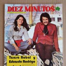 Coleccionismo de Revista Diez Minutos: REVISTA DIEZ MINUTOS 05/05/1973 , POSTER ROMY + LOS CICUTILLAS , ROSANNA YANNI.. Lote 197161796