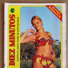 Coleccionismo de Revista Diez Minutos: REVISTA DIEZ MINUTOS EXTRA PRIMAVERA 1975 , POSTER ANGELA MOLINA , YOLANDA RIOS , JESUS HERMIDA.. Lote 197161907