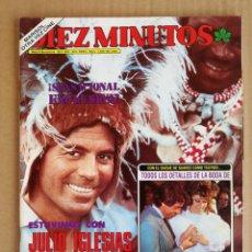 Coleccionismo de Revista Diez Minutos: REVISTA DIEZ MINUTOS 26/02/1983 , SHUSTER , BO DEREK , MARISOL , UN,DOS,TRES (AMENAZA DE BOMBA).. Lote 197162023