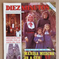 Coleccionismo de Revista Diez Minutos: REVISTA DIEZ MINUTOS 20/11/1982 , ORNELLA MUTI , SUPERMAN , MARADONA , ROCIO JURADO.. Lote 197162082
