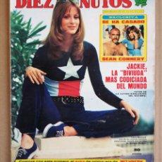 Coleccionismo de Revista Diez Minutos: REVISTA DIEZ MINUTOS 29/03/1975 , ORNELLA MUTI , CANTUDO , POSTER MANOLO OTERO , MARISA MEDINA.. Lote 197162298