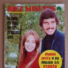 Coleccionismo de Revista Diez Minutos: REVISTA DIEZ MINUTOS 01/12/1973 , VICTORIA VERA , POSTER MARK SPITZ ,. Lote 197162768