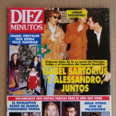 Coleccionismo de Revista Diez Minutos: REVISTA DIEZ MINUTOS 31/12/1993. Lote 197163016