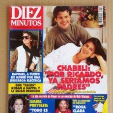 Coleccionismo de Revista Diez Minutos: REVISTA DIEZ MINUTOS 21/10/1994. Lote 197163047