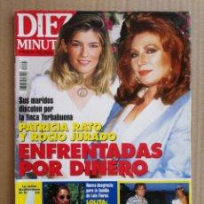 Coleccionismo de Revista Diez Minutos: REVISTA DIEZ MINUTOS 01/09/1995. Lote 197163080