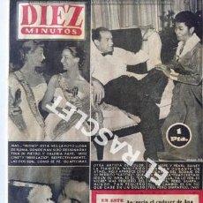Coleccionismo de Revista Diez Minutos: ANTIGUA REVISTA DIEZ MINUTOS Nº 265 -23 SEPTIEMBRE DE 1956 . Lote 197763770