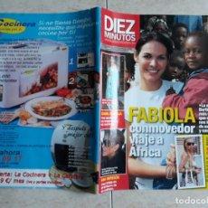 Coleccionismo de Revista Diez Minutos: DIEZ MINUTOS JULIO 2009, NÚMERO 3019.FABIOLA,BERTIN OSBORNE,ISABEL PANTOJA,BELEN ESTEBAN. ETC.. Lote 198825547