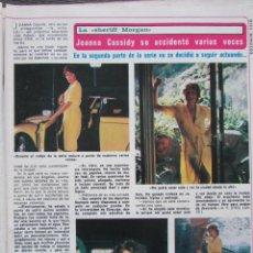 Coleccionismo de Revista Diez Minutos: RECORTE REVISTA DIEZ MINUTOS Nº 1493 1980 JOANNA CASSIDY. Lote 199096478