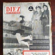 Coleccionismo de Revista Diez Minutos: UNA REVISTA DIEZ MINUTOS Nº 71 DEL 4 ENERO DEL 1953 ELIJA ENTRE 31 NÚMEROS DISTINTOS TODO DEL AÑO 53. Lote 199140290