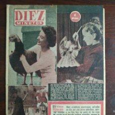 Coleccionismo de Revista Diez Minutos: UNA REVISTA DIEZ MINUTOS Nº175 - 2 ENERO 1955 ELIJA ENTRE 10 NÚMEROS DISTINTOS TODOS DEL AÑO 55. Lote 199150696