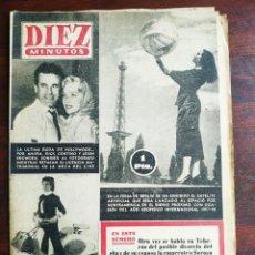 Coleccionismo de Revista Diez Minutos: UNA REVISTA DIEZ MINUTOS Nº267 – 7 OCTUBRE 1956 ELIJA ENTRE 5 NÚMEROS DISTINTOS TODOS DEL AÑO 56. Lote 199152683