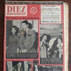 Coleccionismo de Revista Diez Minutos: UNA REVISTA DIEZ MINUTOS Nº431 – 29 NOVIEMBRE 1959 ELIJA ENTRE 7 NÚMEROS DE LOS AÑOS 1959-60-61. Lote 199154745