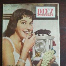 Coleccionismo de Revista Diez Minutos: UNA REVISTA DIEZ MINUTOS Nº EXTRAORDINARIO FIN DE AÑO 1956 PUEDE ELEGIR ENTRE VARIOS Nº EXTRAORDINAR. Lote 199188873