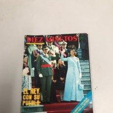Coleccionismo de Revista Diez Minutos: DIEZ MINUTOS. Lote 201178863