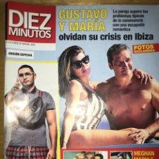 Coleccionismo de Revista Diez Minutos: DIEZ MINUTOS - NÚM: 3505 - OCTUBRE 2018 - GUSTAVO Y MARÍA OLVIDAN SU CRISIS EN IBIZA. Lote 201555126