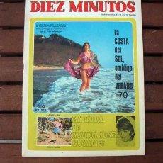 Coleccionismo de Revista Diez Minutos: DIEZ MINUTOS / MARISA MELL, MIGUEL RIOS, MONICA RANDALL, ROMINA POWER, ORNELLA MITI, CARDINALE. Lote 201599426