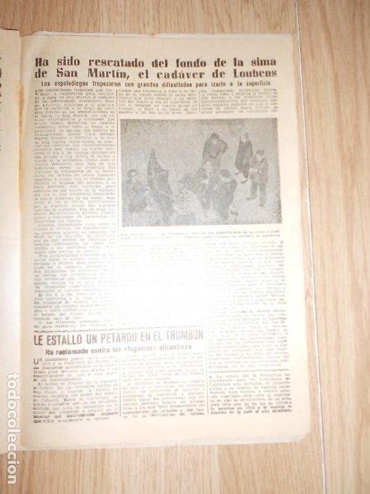 Coleccionismo de Revista Diez Minutos: DIEZ MINUTOS Nº 156 / 22 agosto 1954 - Foto 2 - 202549435