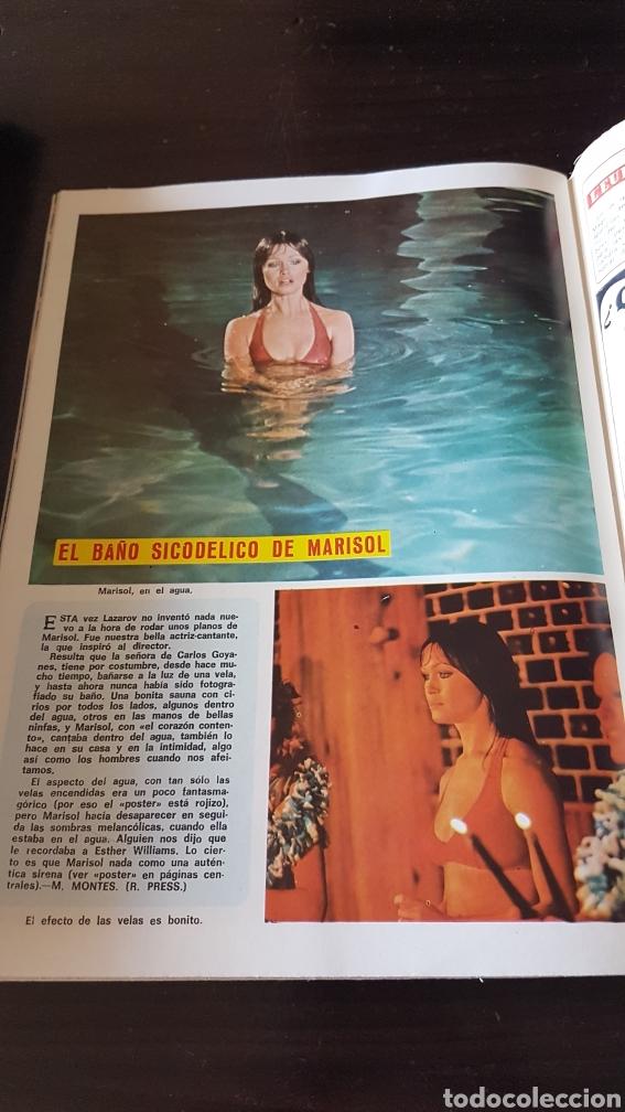 Coleccionismo de Revista Diez Minutos: Poster Marisol revista diez minutos - Foto 2 - 203064930