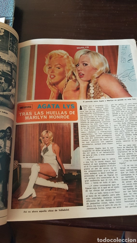 Coleccionismo de Revista Diez Minutos: Revista Diez minutos 1128 . Ana Belén. Boda Karina Ágata Luis Luis Miguel dominguin - Foto 3 - 203068082