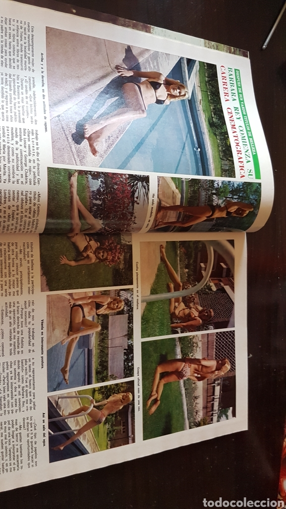 Coleccionismo de Revista Diez Minutos: Revista diez minutos 1141. Barbara rey - Foto 2 - 203073865
