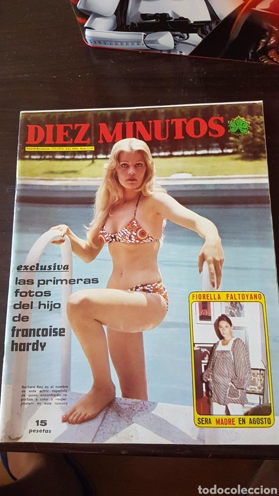 REVISTA DIEZ MINUTOS 1141. BARBARA REY (Coleccionismo - Revistas y Periódicos Modernos (a partir de 1.940) - Revista Diez Minutos)