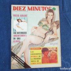 Coleccionismo de Revista Diez Minutos: DIEZ MINUTOS Nº 1256, 1975, POSTER BARBARA REY /WARREN BEATTY,ROCIO JURADO,MIGUEL BOSE. Lote 203867512