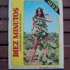 Coleccionismo de Revista Diez Minutos: DIEZ MINUTOS EXTRA Nº 1000 / 20 AÑOS DE NOTICIAS / ANTONIO GADES, MARY FRANCIS, BODAS, MUERTES, ETC. Lote 204143633