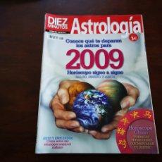 Coleccionismo de Revista Diez Minutos: DIEZ MINUTOS. ASTROLOGÍA. CONOCE QUE TE DEPARAN LOS ASTROS PARA 2009. Lote 204815120