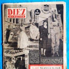 Coleccionismo de Revista Diez Minutos: DIEZ MINUTOS - 18 01 1953 - N° 73. Lote 205148671