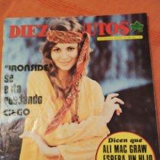 Coleccionismo de Revista Diez Minutos: DIEZ MINUTOS Nº 1135 1973 IRONSIDE, ALI MAC GRAW, MARTINE BROCHARA, MYLENE DEMONGEOT, POSTER IRIANA. Lote 205327055