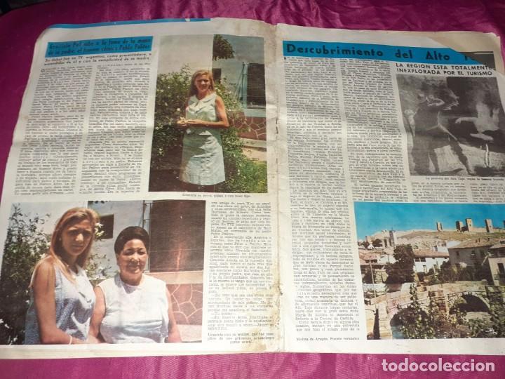 Coleccionismo de Revista Diez Minutos: Antigua revista Díez minutos 1965 boda de christine keeler, - Foto 2 - 205389311