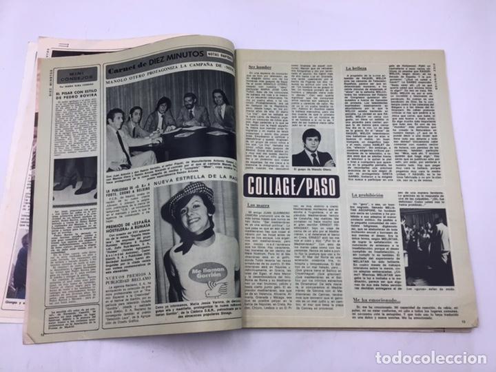 """Coleccionismo de Revista Diez Minutos: REVISTA """"DIEZ MINUTOS """" 1976 - Foto 2 - 205556225"""