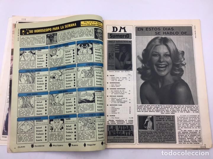 """Coleccionismo de Revista Diez Minutos: REVISTA """"DIEZ MINUTOS """" 1976 - Foto 3 - 205556225"""