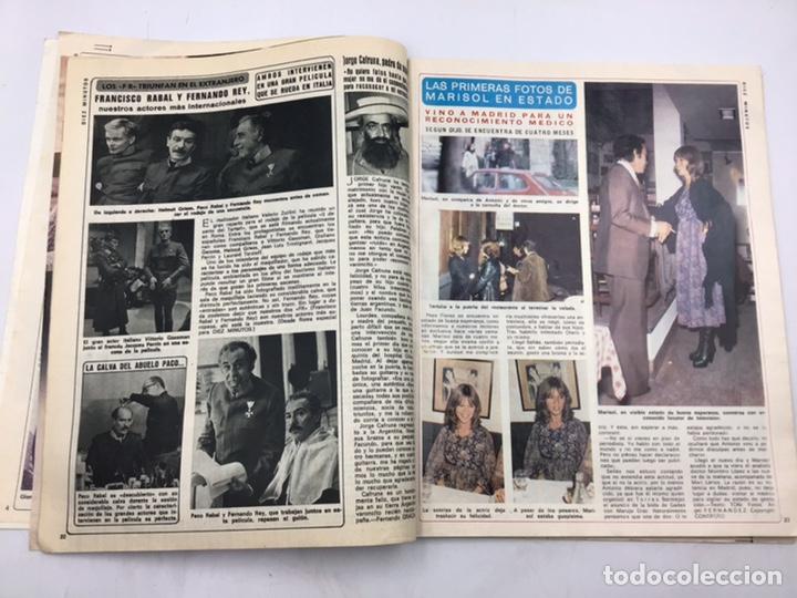"""Coleccionismo de Revista Diez Minutos: REVISTA """"DIEZ MINUTOS """" 1976 - Foto 4 - 205556225"""