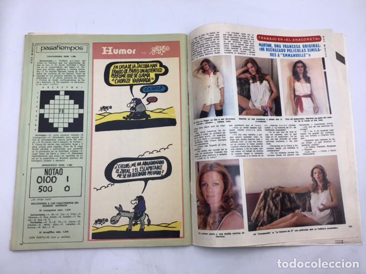 """Coleccionismo de Revista Diez Minutos: REVISTA """"DIEZ MINUTOS """" 1976 - Foto 8 - 205556225"""