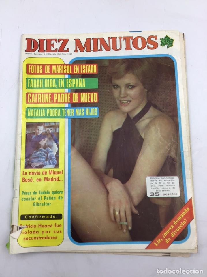 """REVISTA """"DIEZ MINUTOS """" 1976 (Coleccionismo - Revistas y Periódicos Modernos (a partir de 1.940) - Revista Diez Minutos)"""