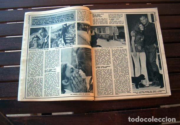 DIEZ MINUTOS/ CARMEN CERVERA, LEX BARKER, CAMILO SESTO, MYLENE DEMONGEOT, ROMINA POWER, MARK SPITZ, (Coleccionismo - Revistas y Periódicos Modernos (a partir de 1.940) - Revista Diez Minutos)