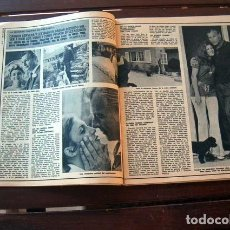 Coleccionismo de Revista Diez Minutos: DIEZ MINUTOS/ CARMEN CERVERA, LEX BARKER, CAMILO SESTO, MYLENE DEMONGEOT, ROMINA POWER, MARK SPITZ,. Lote 206346983