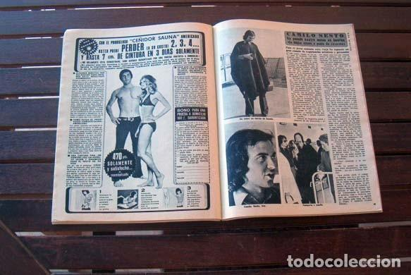Coleccionismo de Revista Diez Minutos: DIEZ MINUTOS/ CARMEN CERVERA, LEX BARKER, CAMILO SESTO, MYLENE DEMONGEOT, ROMINA POWER, MARK SPITZ, - Foto 3 - 206346983