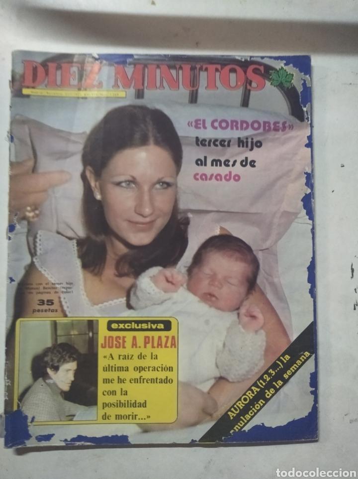 Coleccionismo de Revista Diez Minutos: Lote de revistas Diez minutos antiguas - Foto 2 - 206359387