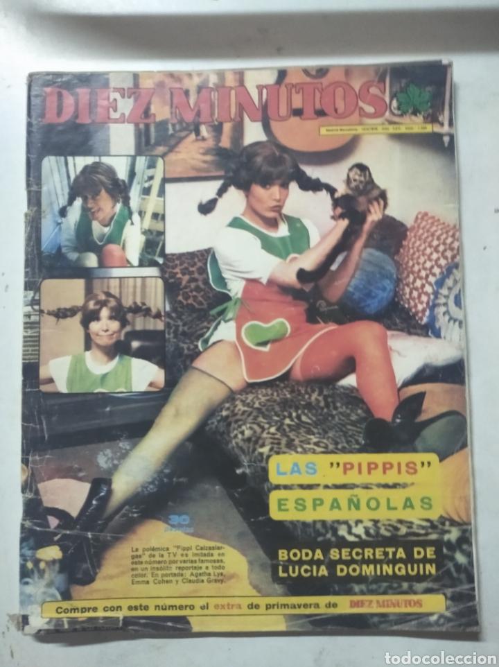 Coleccionismo de Revista Diez Minutos: Lote de revistas Diez minutos antiguas - Foto 4 - 206359387