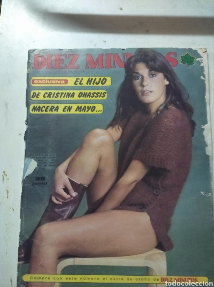 LOTE DE REVISTAS DIEZ MINUTOS ANTIGUAS (Coleccionismo - Revistas y Periódicos Modernos (a partir de 1.940) - Revista Diez Minutos)