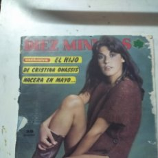 Coleccionismo de Revista Diez Minutos: LOTE DE REVISTAS DIEZ MINUTOS ANTIGUAS. Lote 206359387