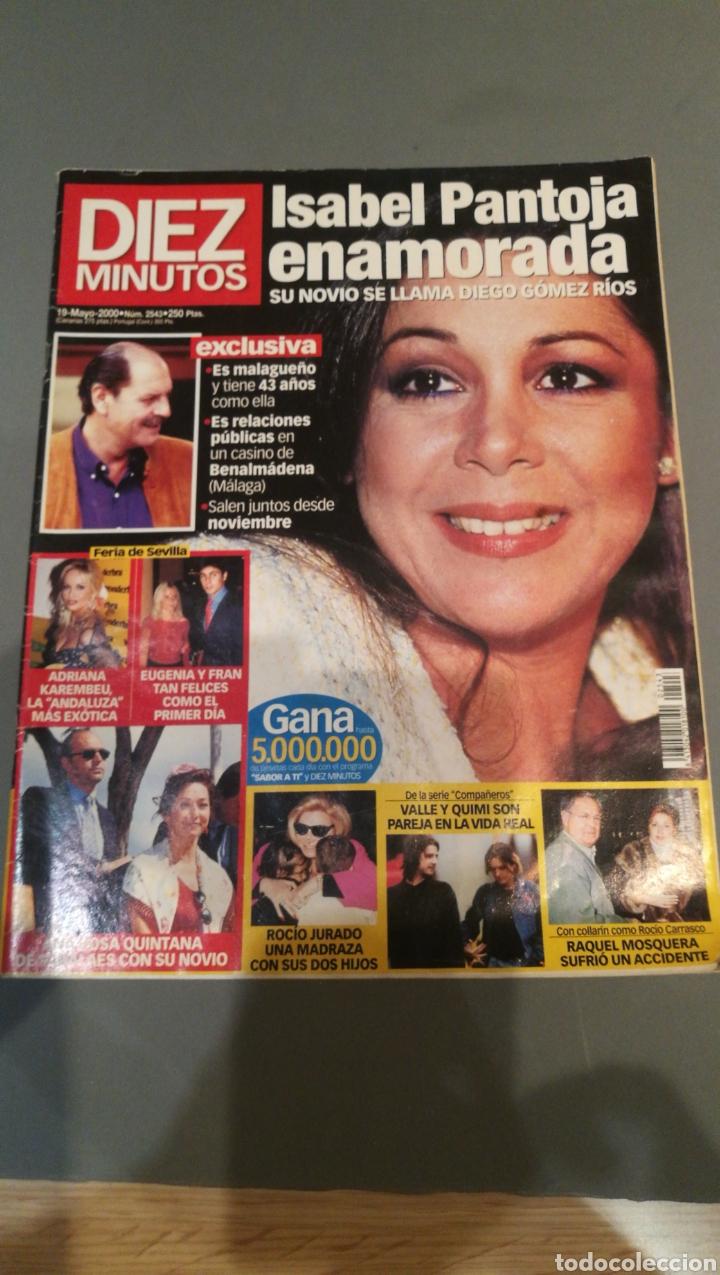 REVISTA DIEZ MINUTOS , NÚMERO 2543 , AÑO 2000 (Coleccionismo - Revistas y Periódicos Modernos (a partir de 1.940) - Revista Diez Minutos)