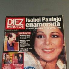 Coleccionismo de Revista Diez Minutos: REVISTA DIEZ MINUTOS , NÚMERO 2543 , AÑO 2000. Lote 206403641